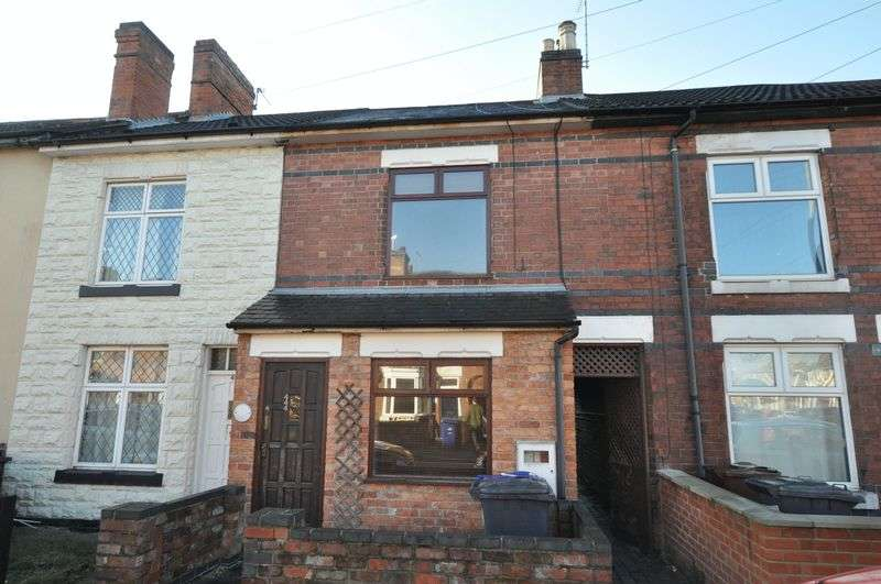 2 Bedrooms Terraced House for sale in Anglesey Road, Burton-On-Trent