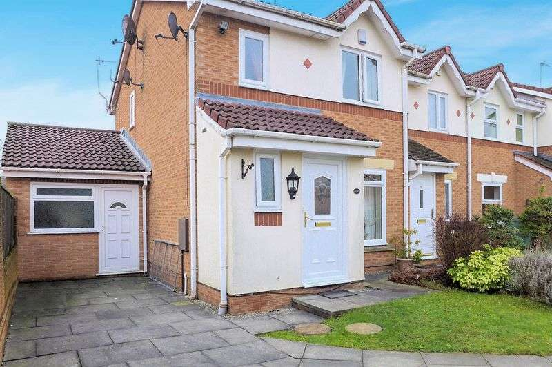3 Bedrooms Terraced House for sale in Brightwater Close, Whitefield