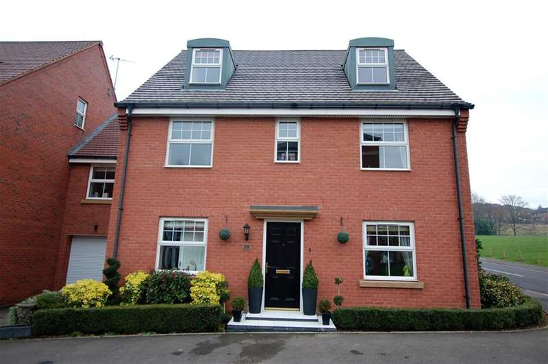 5 Bedrooms Detached House for sale in Kirkpatrick Drive, Wordsley, DY8 5TG