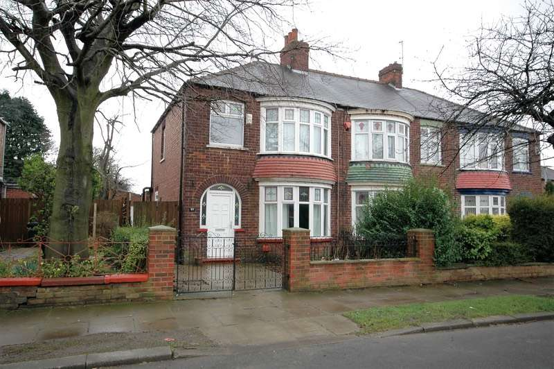 3 Bedrooms Semi Detached House for sale in Harrow Road, Middlesbrough, North Yorkshire, TS5
