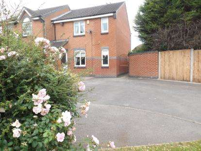 3 Bedrooms Semi Detached House for sale in Mandeen Grove, Mansfield, Nottinghamshire