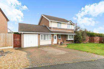 4 Bedrooms Detached House for sale in Alderberry Road, Hawarden, Deeside, Flintshire, CH5
