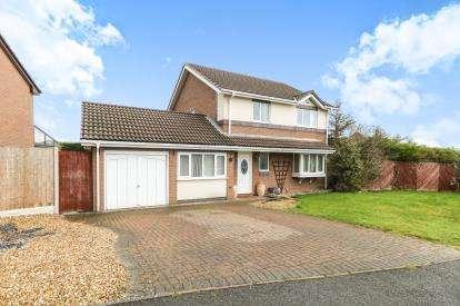 4 Bedrooms Detached House for sale in Alderberry Road, Hawarden, Deeside, Flintshire, CH5
