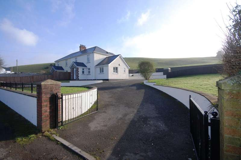 4 Bedrooms Semi Detached House for sale in Argoed Cottages, Ton Breigam, Llansannor, Vale of Glamorgan, CF72 9JX