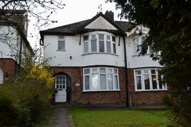 3 Bedrooms Semi Detached House for sale in Kettering Road, Spinney Hill, Northampton NN3 6QH
