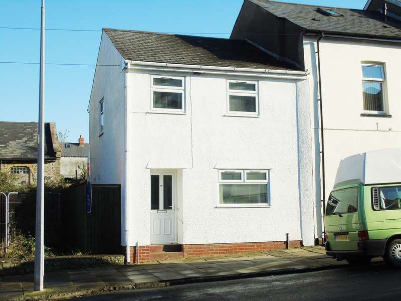 2 Bedrooms End Of Terrace House for sale in Arcot Street, Penarth