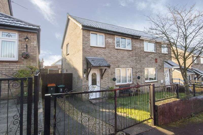 3 Bedrooms Semi Detached House for sale in Lundy Drive, Newport