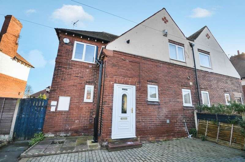 3 Bedrooms Semi Detached House for sale in 110 Willow Park, Pontefract, WF8 2SZ