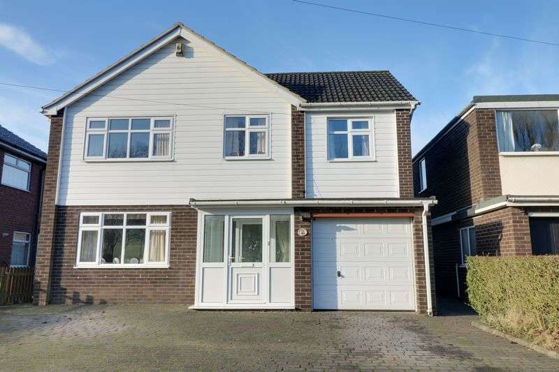 4 Bedrooms Detached House for sale in Dryden Road, Scunthorpe