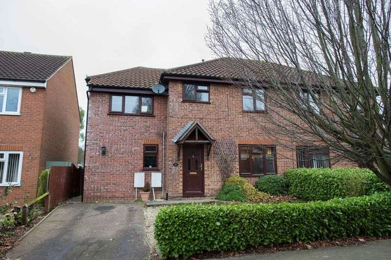 4 Bedrooms Semi Detached House for sale in Beard Road, Bury St. Edmunds
