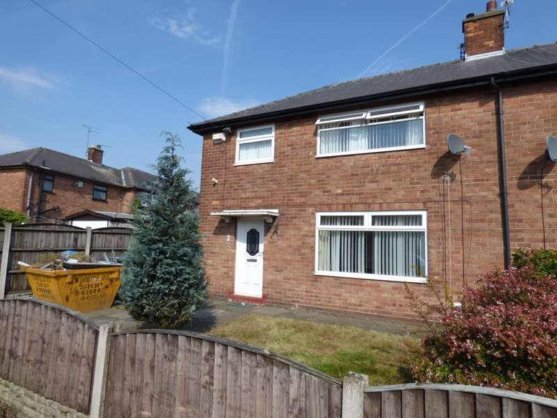 3 Bedrooms Semi Detached House for sale in Crawley Avenue, Warrington, Cheshire, WA2