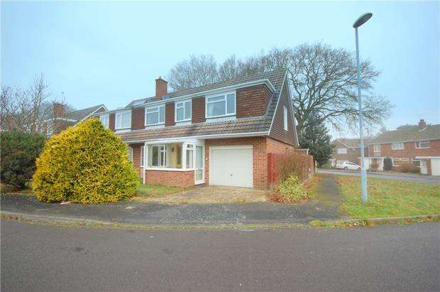 4 Bedrooms Semi Detached House for sale in Ferndown, Dorset, BH22