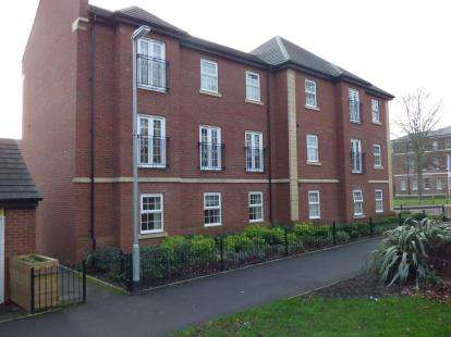 2 Bedrooms Flat for sale in St. Georges Parkway, Stafford, Staffordshire