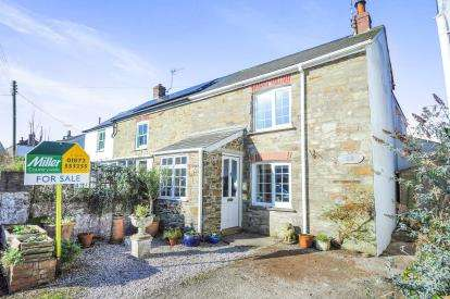 3 Bedrooms Semi Detached House for sale in St Agnes, Truro, Cornwall