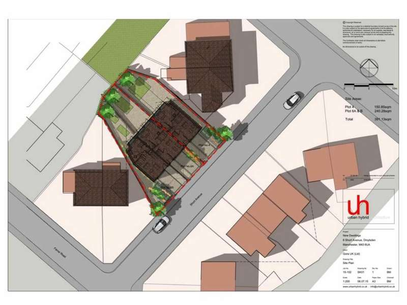 Land Commercial for sale in 4-6 Short Avenue, Droylsden, Manchester, M43
