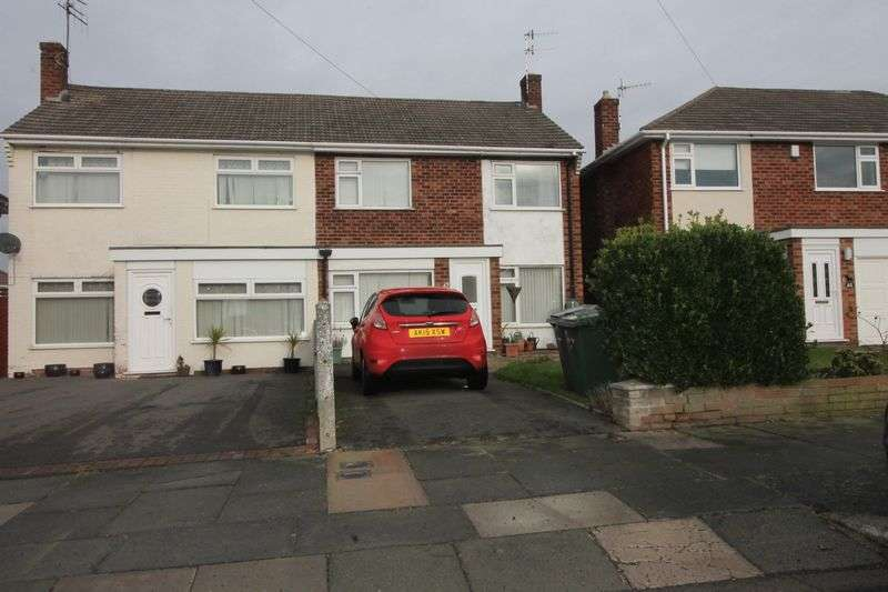 3 Bedrooms Semi Detached House for sale in Prenton Village Road, Prenton