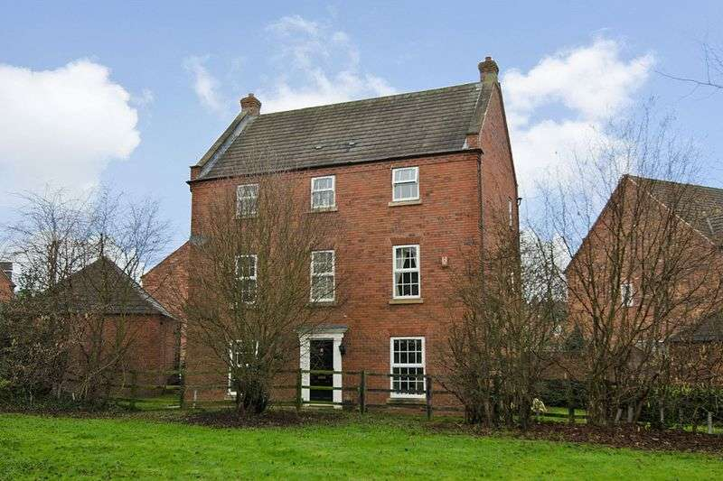 5 Bedrooms Detached House for sale in Walnut Walk, Dawin Park, Lichfield