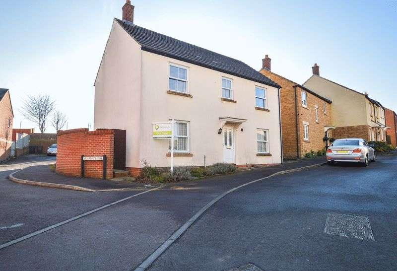 4 Bedrooms Detached House for sale in Bell Chase, Yeovil