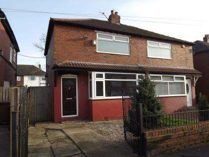 2 Bedrooms Semi Detached House for sale in Tennyson Road, Reddish, Stockport, Greater Manchester