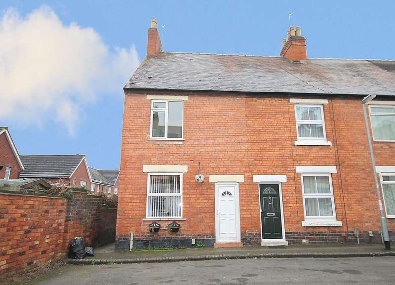 2 Bedrooms End Of Terrace House for sale in Dent Street, Tamworth, B79 7JL