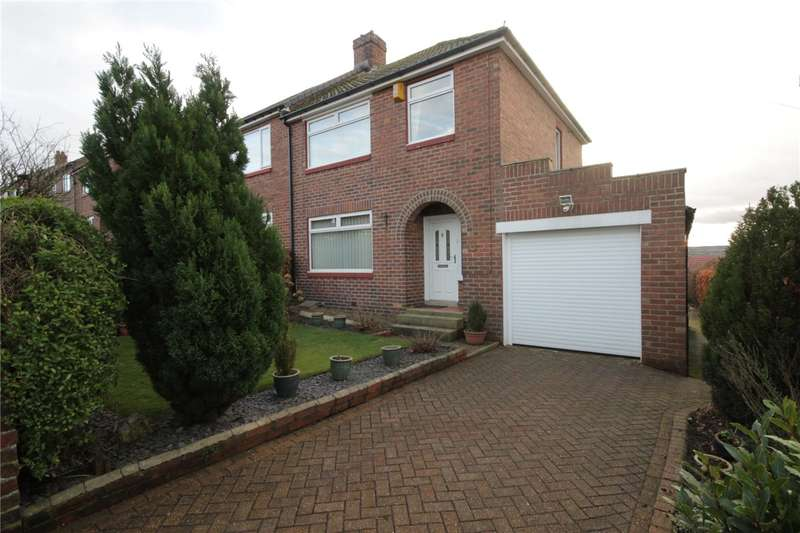 3 Bedrooms Semi Detached House for sale in Alston Road, Bridgehill, Consett, DH8