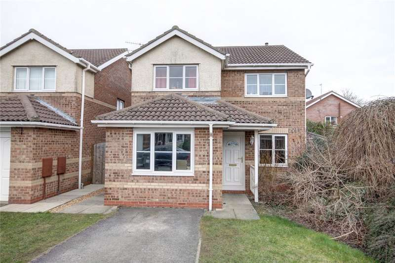 3 Bedrooms Detached House for sale in Herrington Close, Langley Park, Durham, DH7