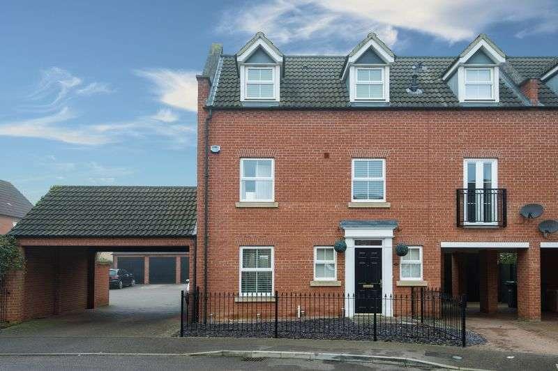 4 Bedrooms Semi Detached House for sale in Malden Way, Eynesbury