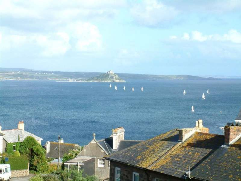 4 Bedrooms Terraced House for sale in Lescudjack Terrace, Penzance, Cornwall