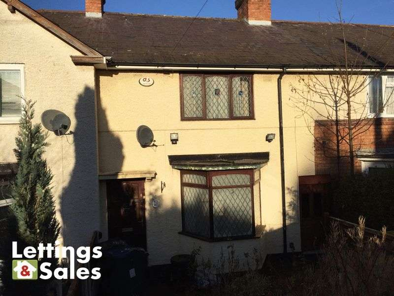 3 Bedrooms Terraced House for sale in Rodwell Grove, Birmingham
