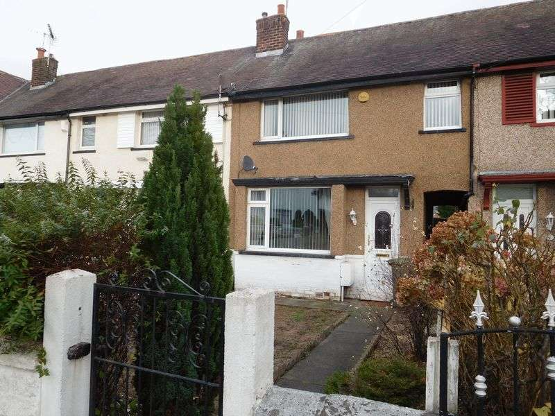 3 Bedrooms Terraced House for rent in Woodhead Road, Wirral