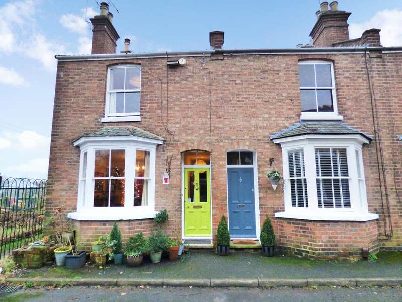 3 Bedrooms End Of Terrace House for sale in Glebe Place, Off-Leam Terrace, Leamington Spa