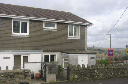 3 Bedrooms Semi Detached House for sale in St. Cleer, Liskeard, Cornwall
