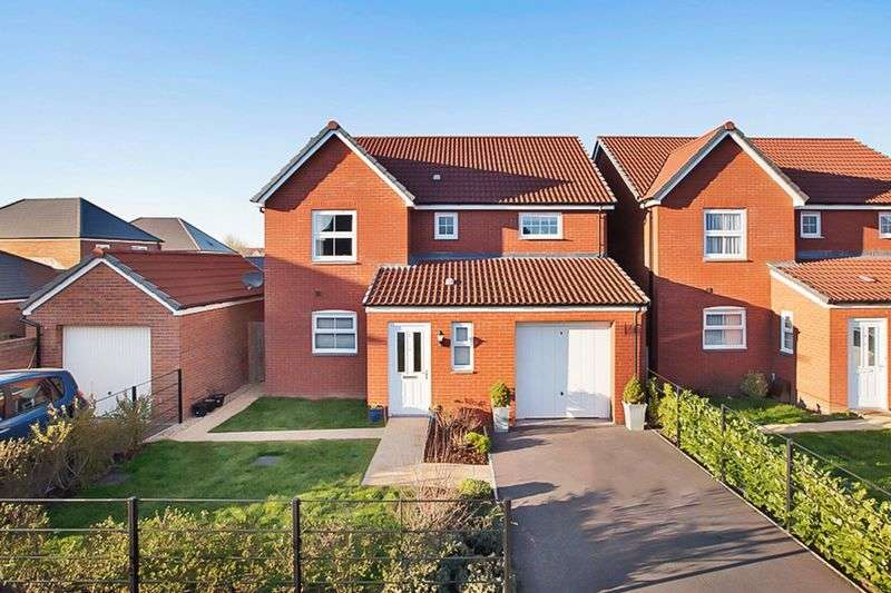 4 Bedrooms Detached House for sale in Popham Road, Wellington