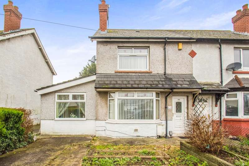 2 Bedrooms Terraced House for sale in Tweedsmuir Road, Cardiff