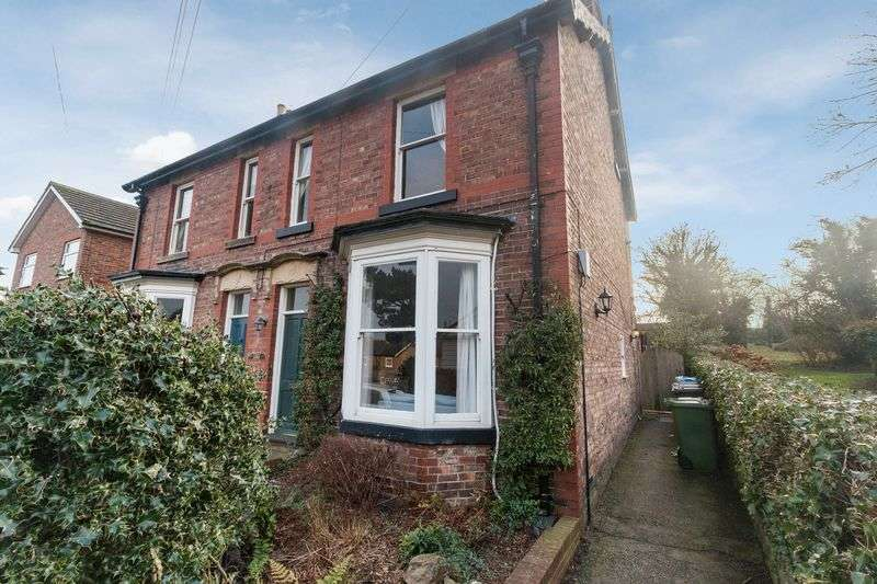 4 Bedrooms Semi Detached House for sale in South End, Bedale