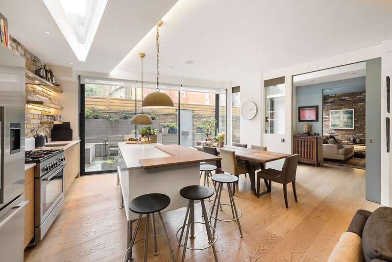 6 Bedrooms End Of Terrace House for sale in Anhalt Road, London, SW11