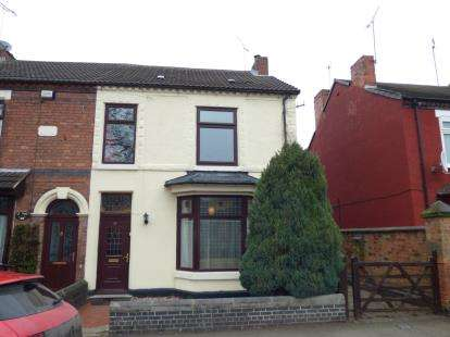 4 Bedrooms Semi Detached House for sale in Alexandra Road, Burton-On-Trent, Staffordshire