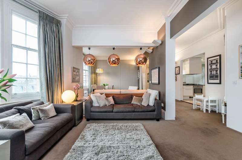 2 Bedrooms Flat for sale in Warwick Mansions, Cromwell Crescent, Kensington, SW5