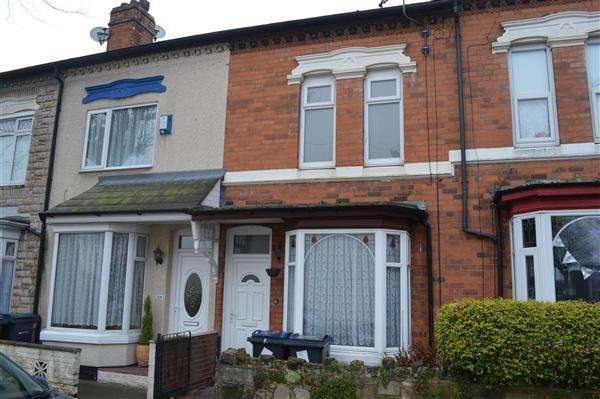 3 Bedrooms Terraced House for sale in Emily Road, Yardley, Birmingham