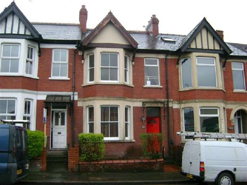 3 Bedrooms Terraced House for sale in CAERLEON ROAD, NEWPORT, GWENT. NP19 7LT