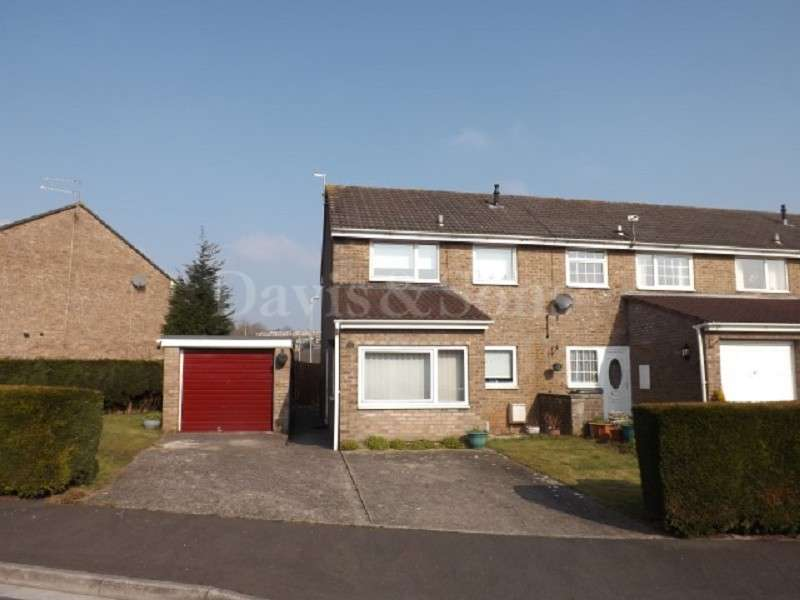 3 Bedrooms End Of Terrace House for sale in Winchester Close, Off Cardiff Road, Newport. NP20 3BL