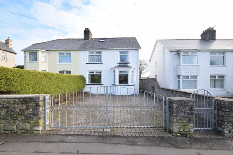 3 Bedrooms Semi Detached House for sale in 63 Ewenny Road, Bridgend, Bridgend County Borough, CF31 3HY.
