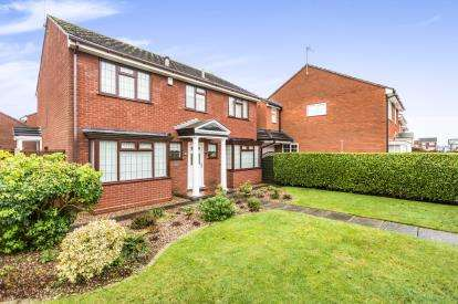 4 Bedrooms Detached House for sale in Wadley Drive, Bevere, Worcester, Worcestershire