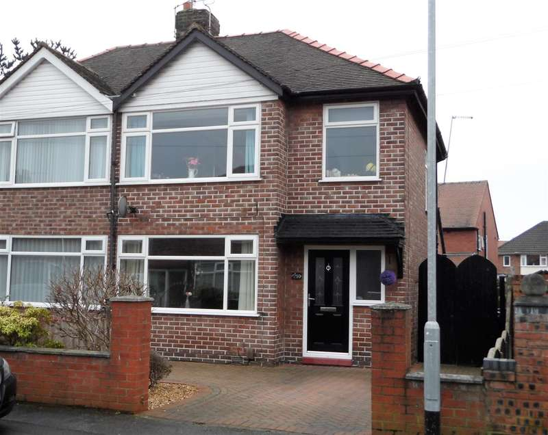 3 Bedrooms Semi Detached House for sale in Lyndale Avenue, Orford Green, Orford