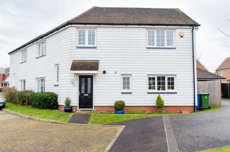 4 Bedrooms Semi Detached House for sale in Marjoram Drive, Sittingbourne