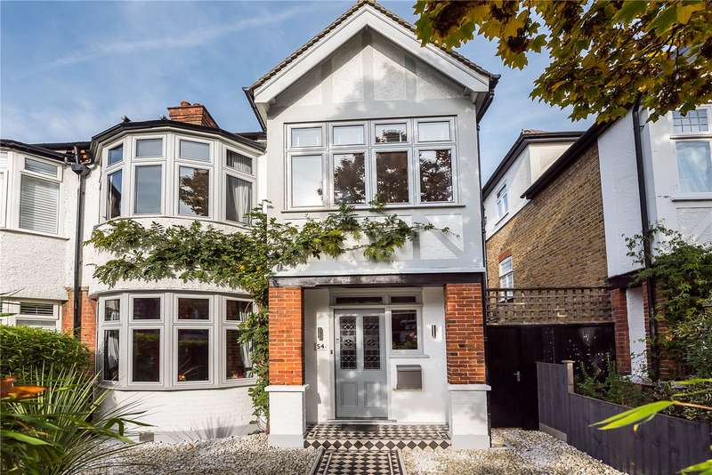 4 Bedrooms Semi Detached House for sale in St. Margarets Road, St. Margarets, TW1