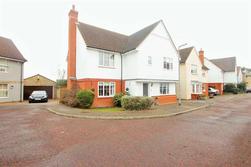4 Bedrooms Link Detached House for sale in Oxley Parker Drive, Mile End, Colchester