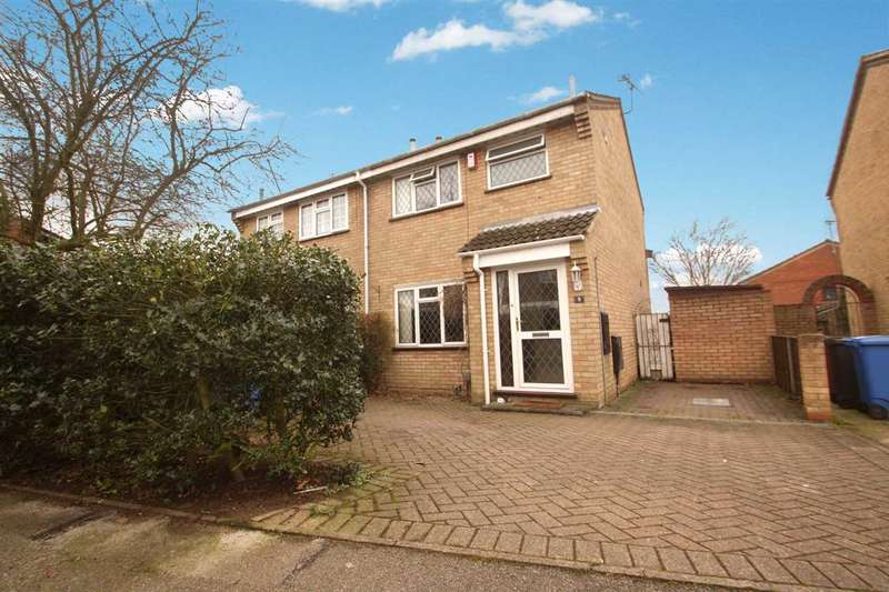 3 Bedrooms Semi Detached House for sale in Coleness Road, Ipswich