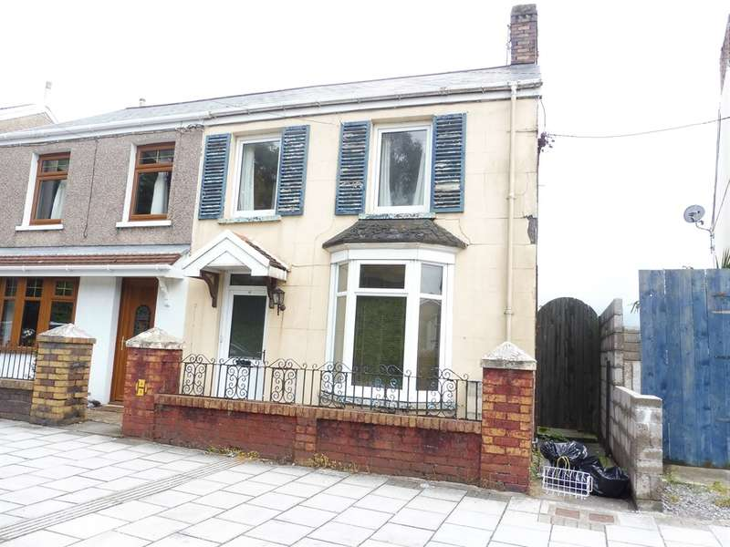 2 Bedrooms Semi Detached House for sale in Maesteg Road, Tondu, Bridgend