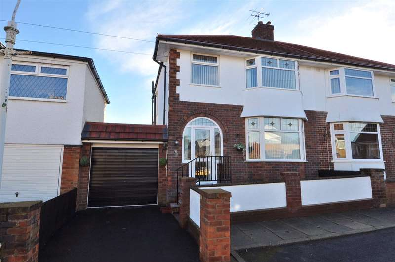 3 Bedrooms Semi Detached House for sale in Grafton Walk, West Kirby, Wirral